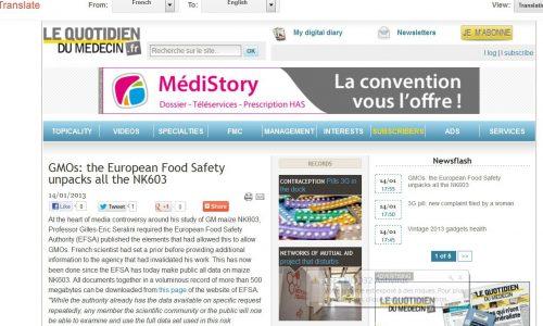 L'EFSA (Autorità europea per la sicurezza alimentare) promuove l'accesso del pubblico ai propri dati nell'ambito di una iniziativa per la trasparenza
