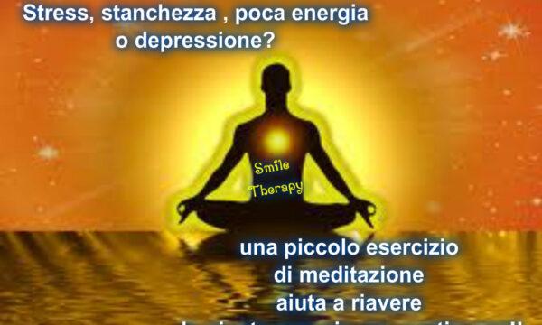 Basso di energia? Una meditazione per stare meglio!