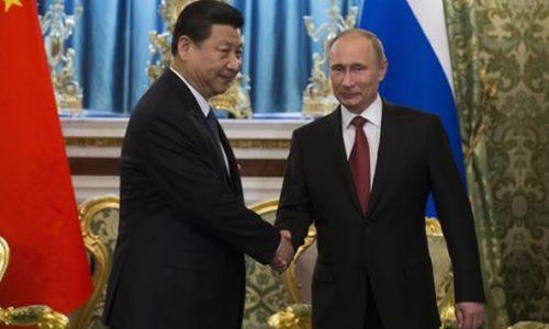 RUSSIA E CINA HANNO FIRMATO ACCORDI che garantiscono la pace MONDIALE PER SEMPRE