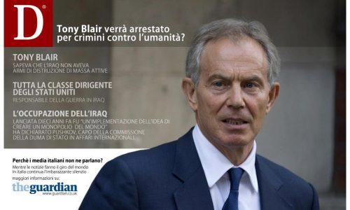 Tony Blair sarà arrestato per i crimini di guerra e contro l'umanità?