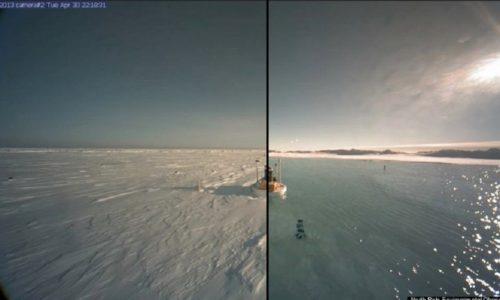 Il polo nord è un laghetto adesso – Ma davvero?