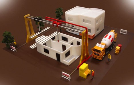 Vuoi stampare la tua nuova casa con lo stampante 3d si for Progetta la tua casa in 3d