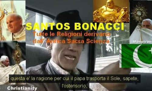 Tutte le religioni derivano dall' Antica Scienza Sacra – Cristianesimo Islam e Buddismo – Santos Bonaci – Astroteologia