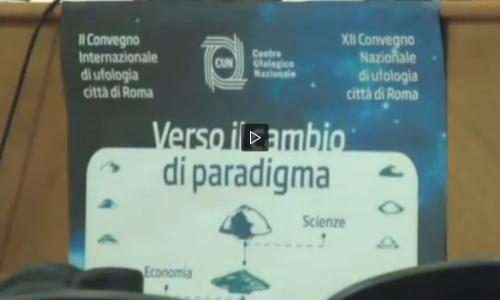 """Ufo, il convegno: """"Gli alieni sono tra noi. Le prove sono inconfutabili"""" (VIDEO)"""