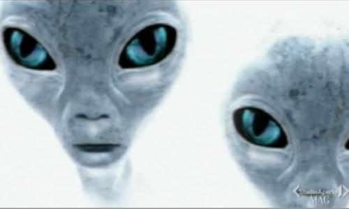 Gli alieni sono tra di noi – dicono anche sulla TV italiana