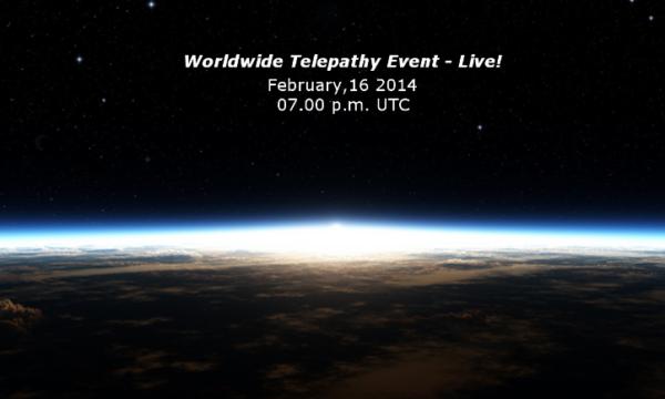 Un evento mondiale! Primo contatto telepatico con gli extraterrestri! – 16 febbraio 2014 – In diretta!