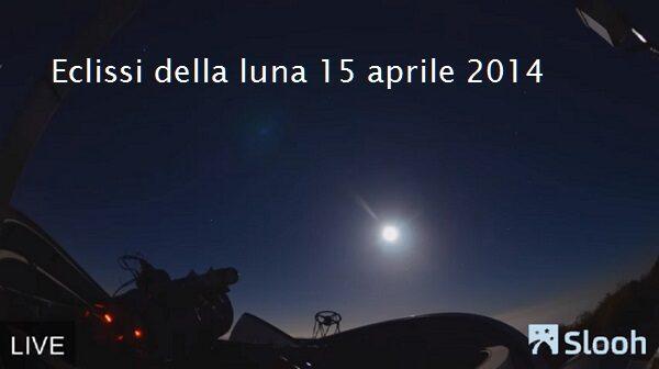 Eclissi della luna – La diretta in streaming, ma con un po' di censura-FOTO