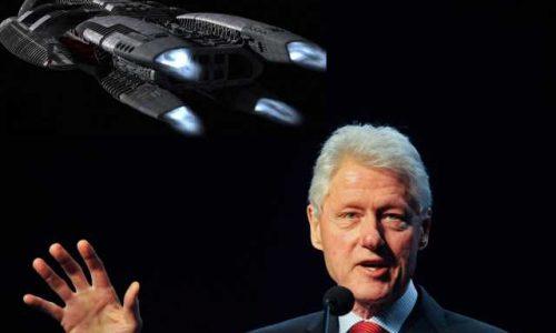 Bill Clinton: non mi sorprenderei se gli alieni visitassero la Terra