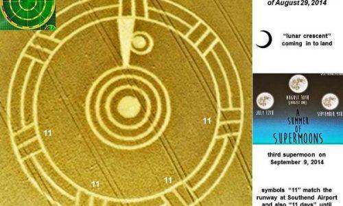 PORTALE 9/9/2014 annunciato con insistenza anche con i cerchi nel grano