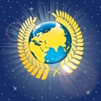 25131736-corona-d-alloro-attorno-al-pianeta-terra-vista-dalla-illustrazione-spazio-vettoriale