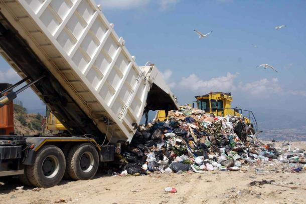 03062009 vado ligure impianto di discarica e smaltimento rifiuti del boscaccio gestito da ecosavona