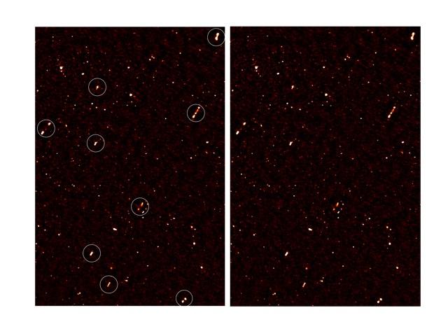 allineamento dei buchi neri