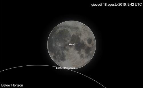 quasi eclisse lunare