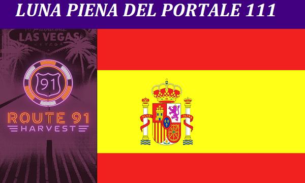 Luna Piena del portale 111- con i messaggi da Catalognia (Barcellona) e Las Vegas